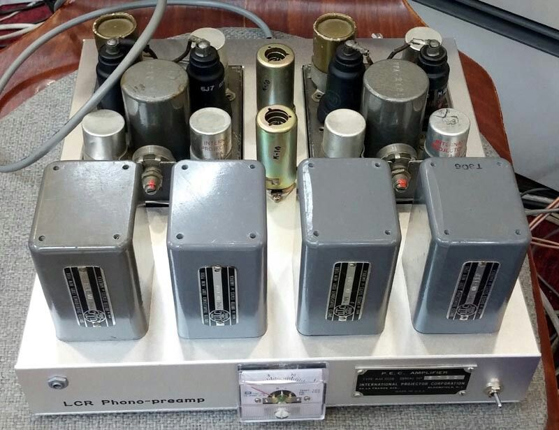 LCR phono preamp 궁극의 포노소리