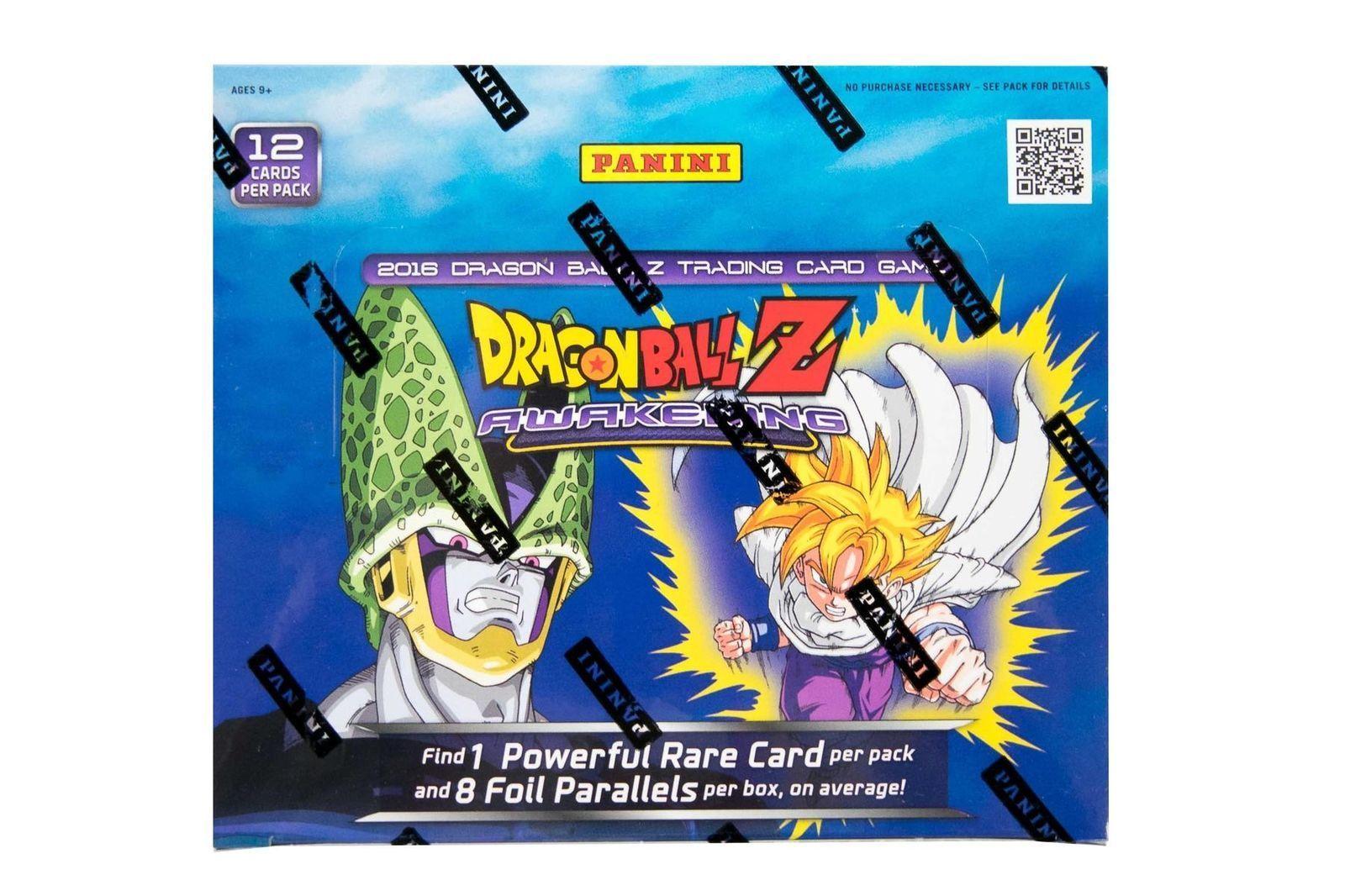 Dragon ball z awakening booster box sealed dbz dragon