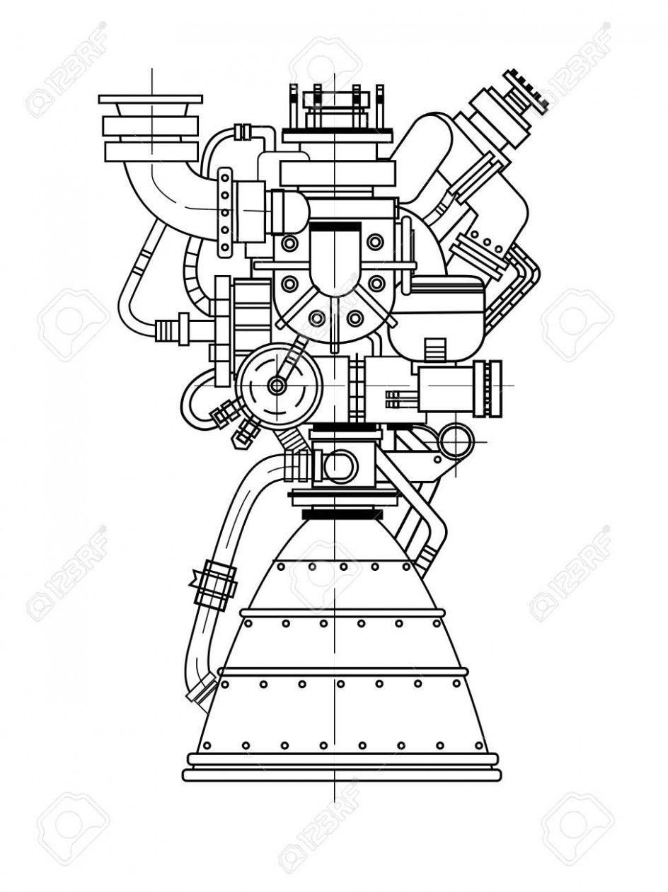 Rocket Engine Diagram Download Rocket Engine Diagram