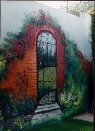 Murales para pared de paisajes buscar con google Papeles murales con diseno de paisajes