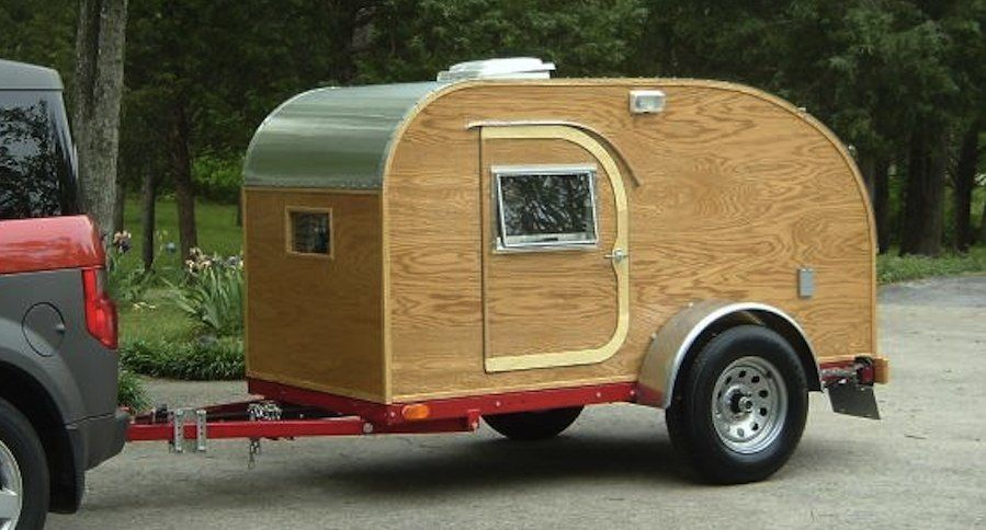 Build a Teardrop Camper in 10 Easy Steps | Trailer build | Diy