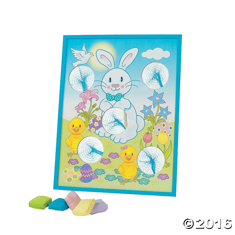 Easter Bean Bag Toss Game - OrientalTrading.com