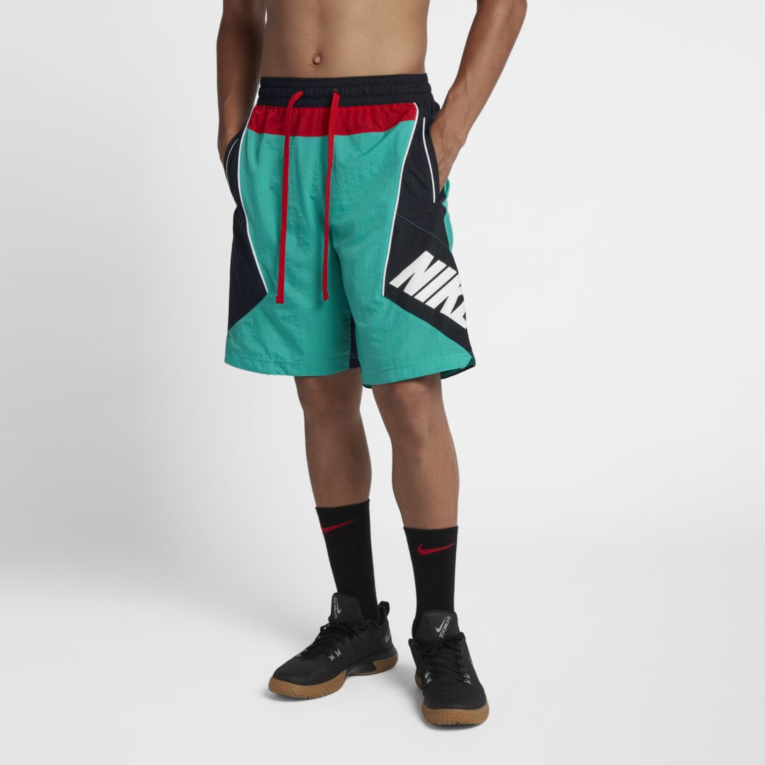 6df0fc9094808b Nike Throwback Men s Basketball Shorts Size S (New Green)