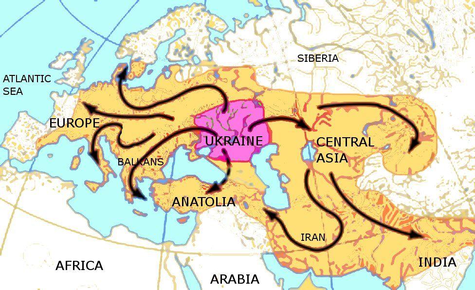 Indo-European Migrations | Indo-Europeans | European people, History ...