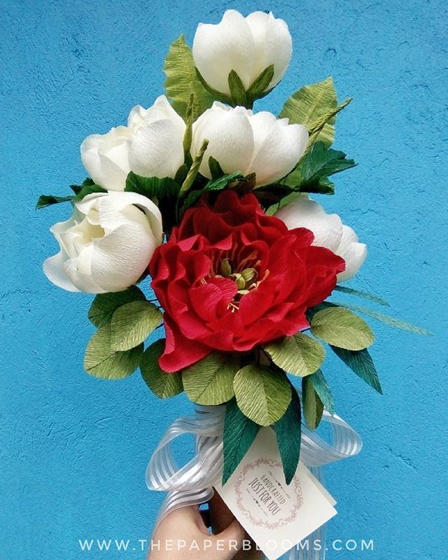 Peony cone bouquet delivery on a Sunday. Let\'s celebrate love ...