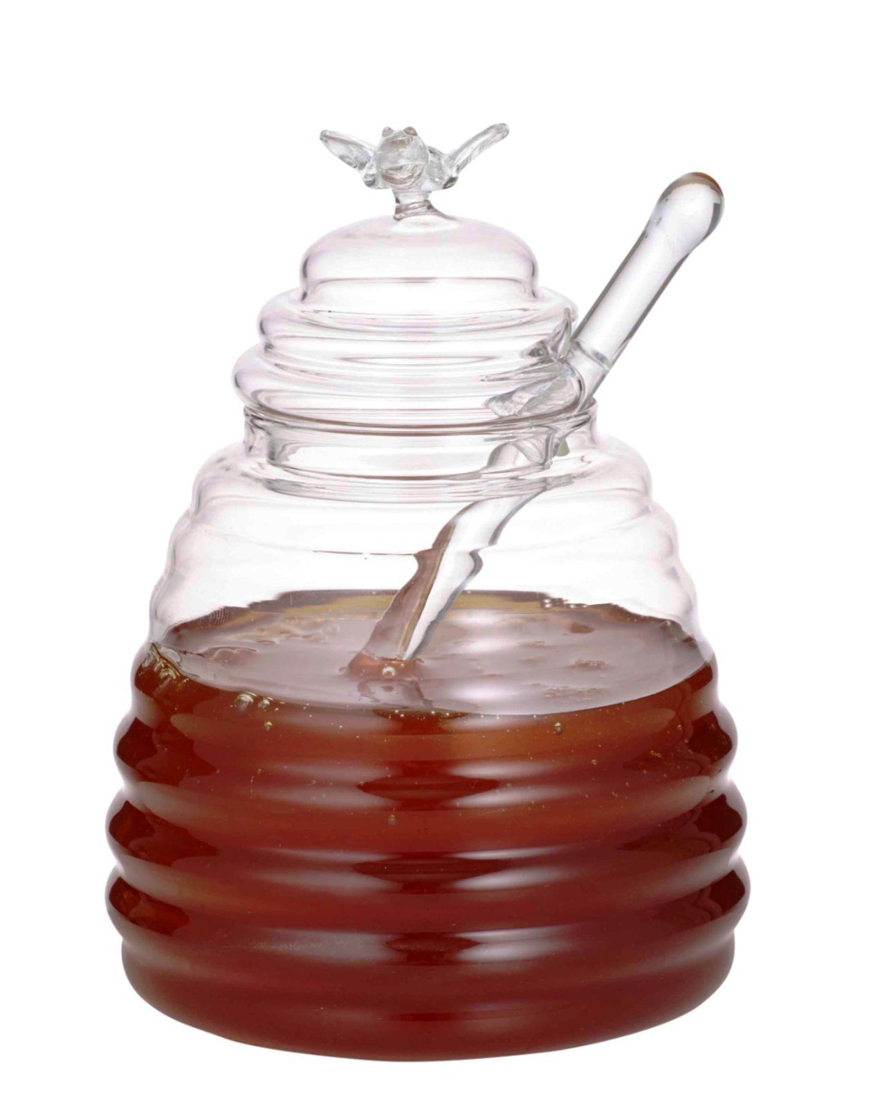 HONEY POT AND DIPPER Honey pot, Jar, Honey