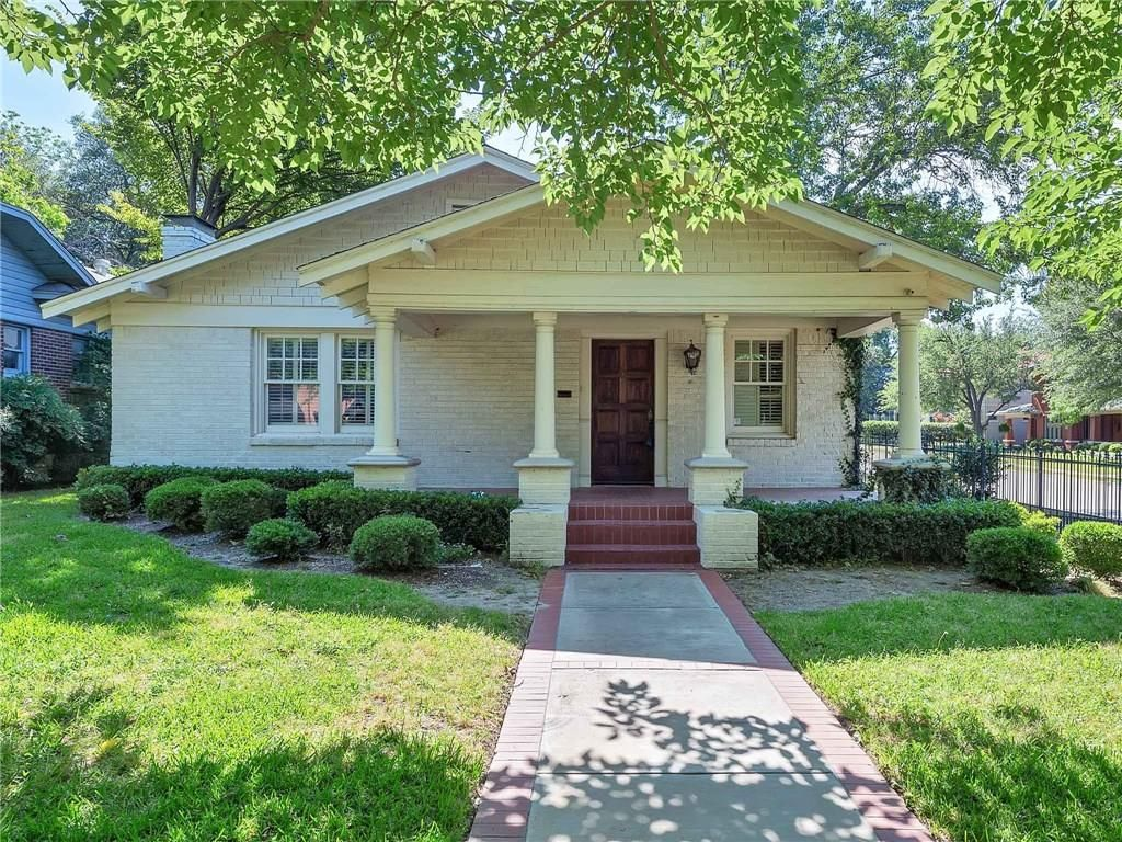 Fort Worth Craftsman Style Homes For Sale Craftsman Style House