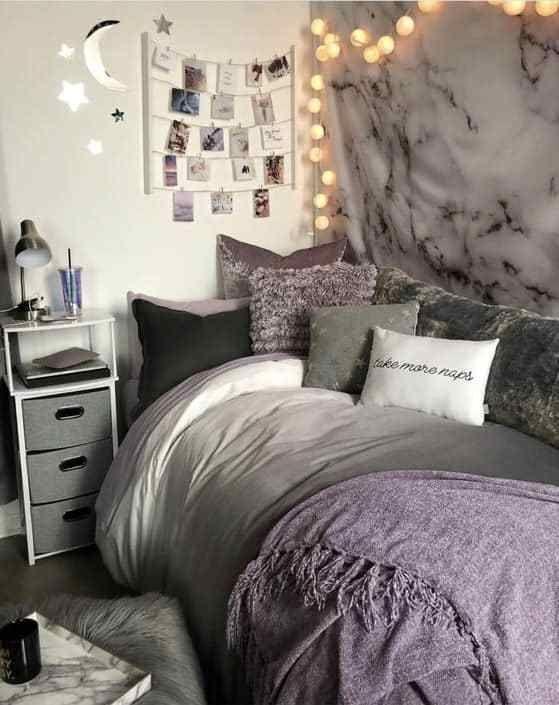 Loving these cute dorm rooms and dorm decor ideas! #dormroom #dorm #dormdecor