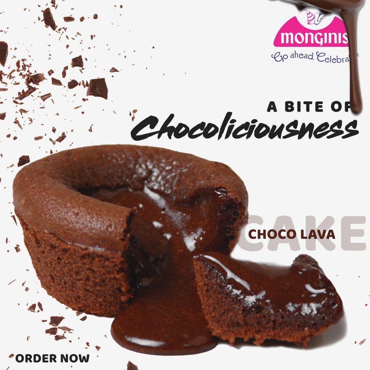 Monginis Cake Shop Chhattisgarh On Twitter Choco Lava Cake Shop Lava Cakes
