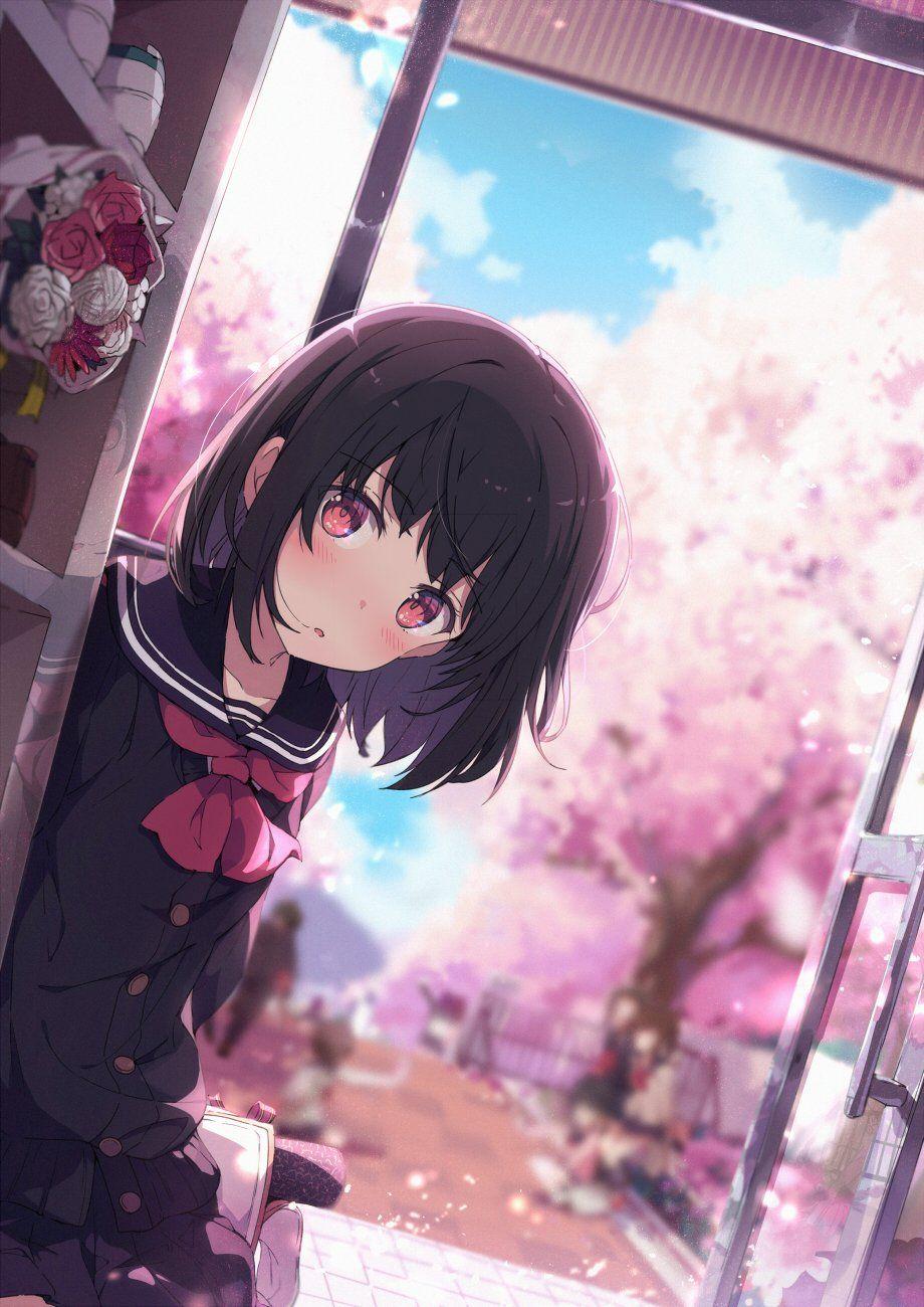 荻pote 3日目西a 05a On Anime Kawaii Anime Anime School Girl