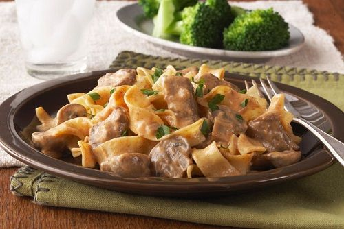 Beef Stroganoff in a Slow-Cooker Recipe on Yummly. @yummly #recipe
