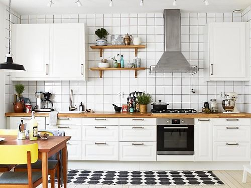 simple #kitchen (via Stadshem)