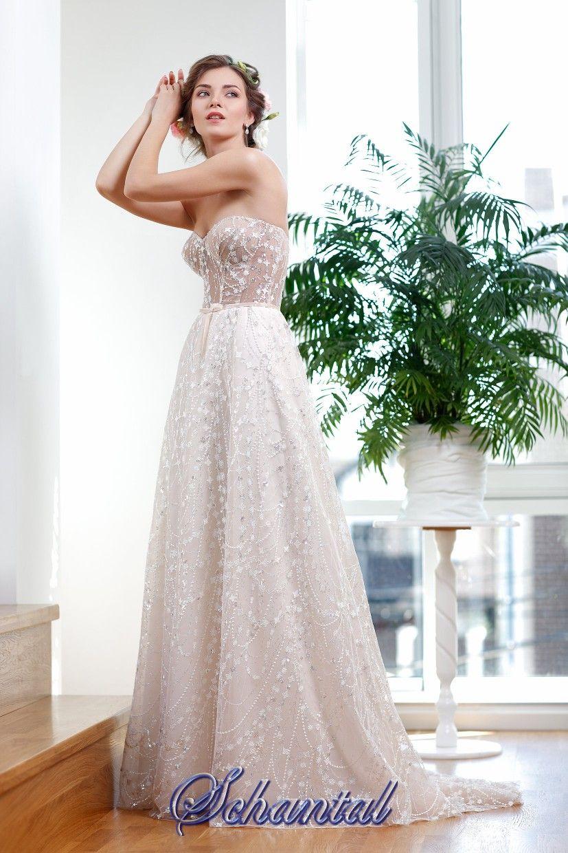 Brautkleid/Hochzeitkleid/wedding dress -Empire. Brautmode Schantal