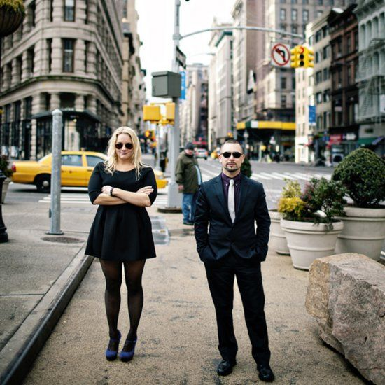 This fabulous couple chose new York for the engageemnt shoot. They take us round a tour of the city with this fun shoot.