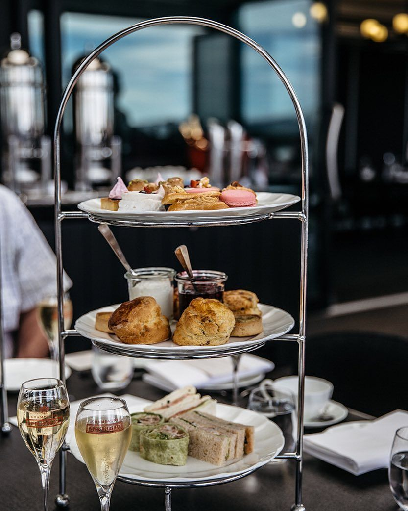 Spent a beautiful afternoon on the Burbury Terrace with @keno27 on Saturday enjoying the new high tea menu. The scones and prawn sandwhiches were my favourite. #domahotels