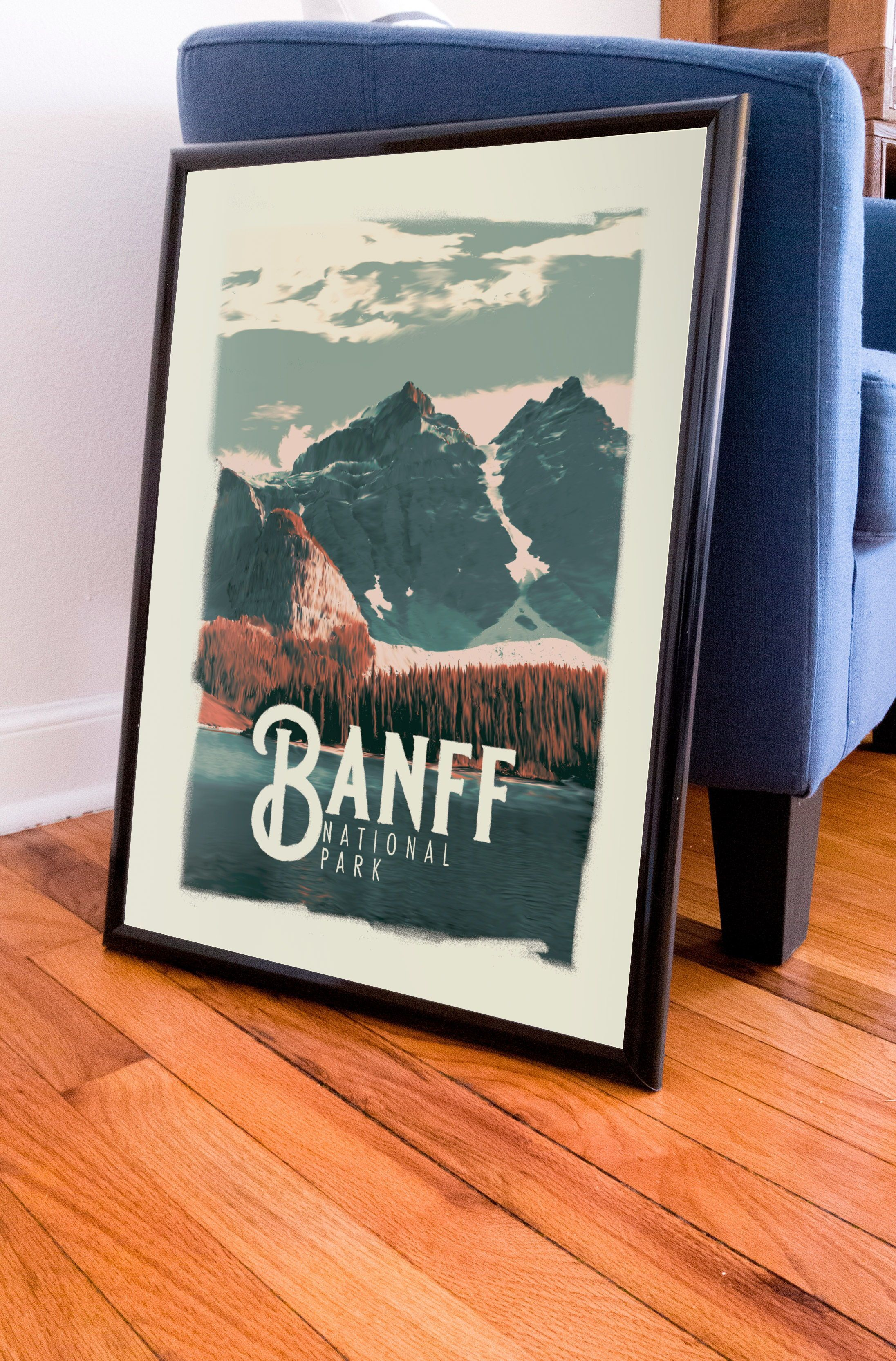 Banff National Park Poster Etsy In 2020 National Park Posters Banff National Park National Parks