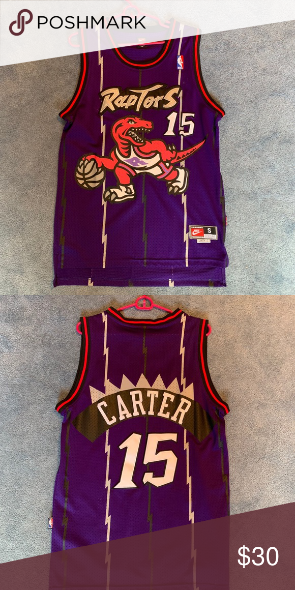 cheaper b4ecf 37fc9 NBA Toronto Raptors Vince Carter Jersey Very lightly worn ...