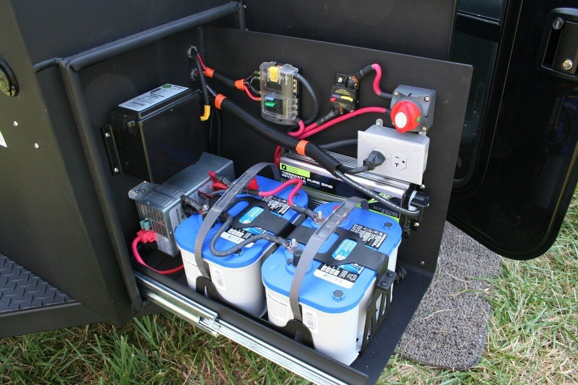 Dual Battery All Charged Up Inverter Off Road Camping