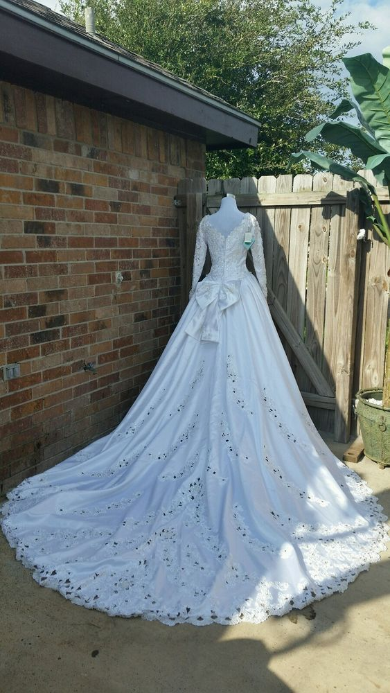 Mori Lee White Wedding Dress A Line Princess Look Ball Gown