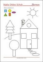 die formen lernen kreis rechteck quadrat dreieck schreiben kindergarten formen. Black Bedroom Furniture Sets. Home Design Ideas