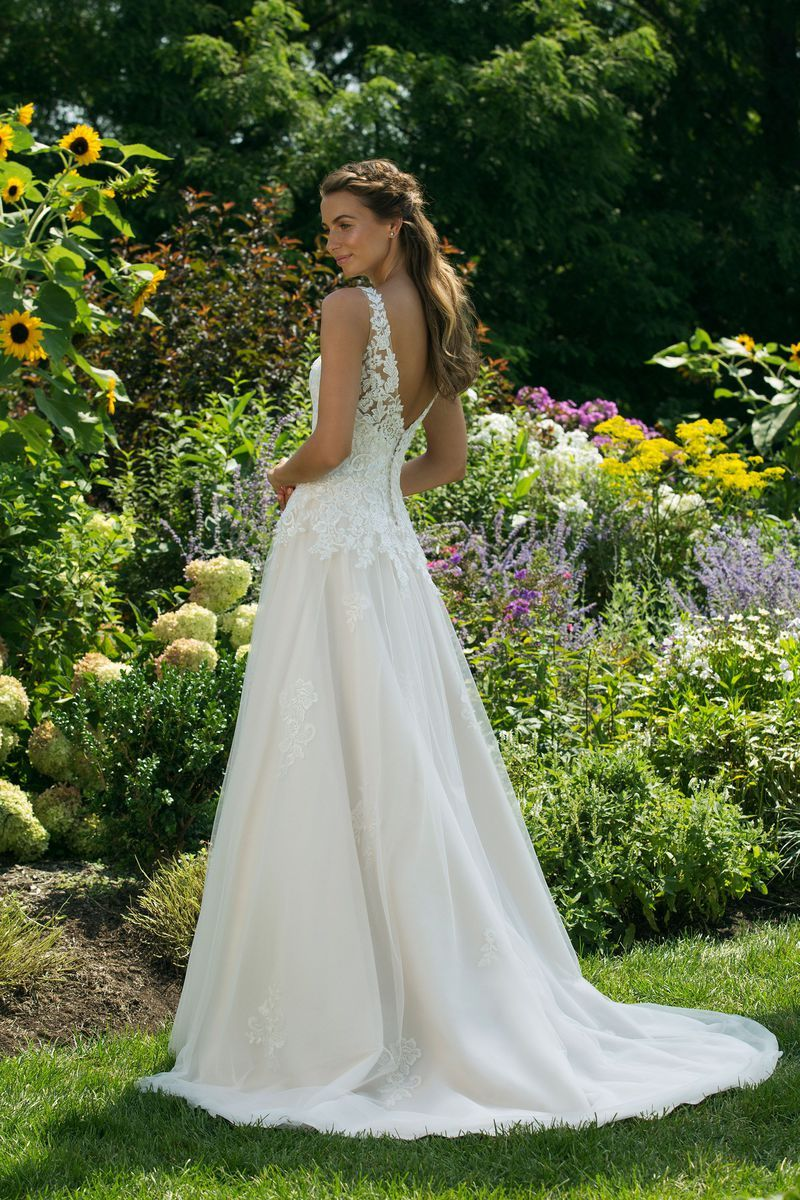 Photo of N ° 7306 Sweetheart – Romantic wedding dress in A-line style …