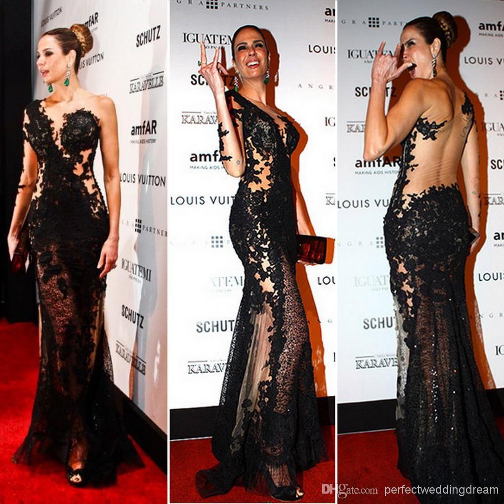 Großhandel 2014 Wunderschöne Luciana Gimenez Promi Abendkleider Ein ...