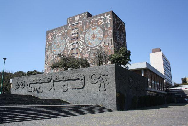 Biblioteca central de Ciudad Universitaria, México, D.F.
