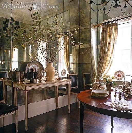 ayna kaplama duvarlar, ayna kaplama, ayna kaplama trendi, aynalı duvar, dekoras… Balkon