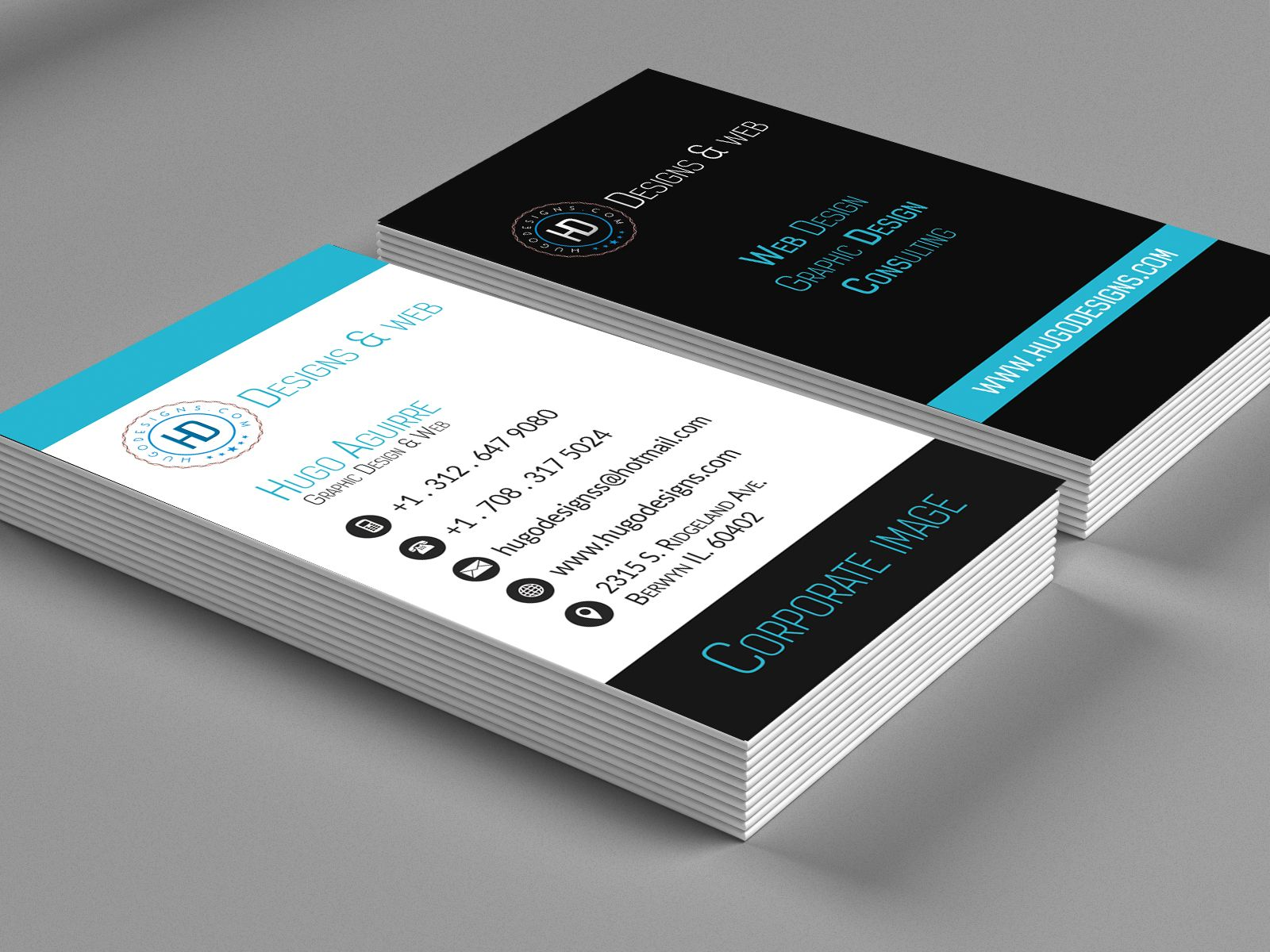 business card preview | Creative Studio Business Cards | Pinterest ...