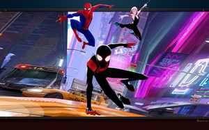 spiderman-new-generation-spider-verse fond ecran pour pc | spiderman, fond ecran, image arrière plan