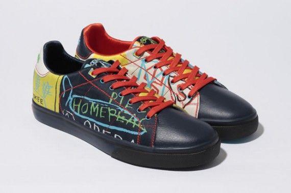 sacerdote chatarra después de esto  Jean-Michel Basquiat x Reebok Affili'art Collection - NPC Clean -  SneakerNews.com   Reebok shoes, Jean michel basquiat, Reebok