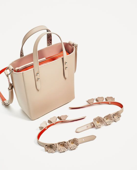 Image 5 Of Mini Tote Bag With Interchangeable Handles From Zara