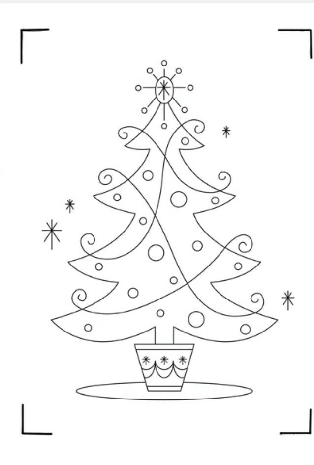 Xmas tree | Christmas | Pinterest | Bordado navidad, Navidad and Bordado