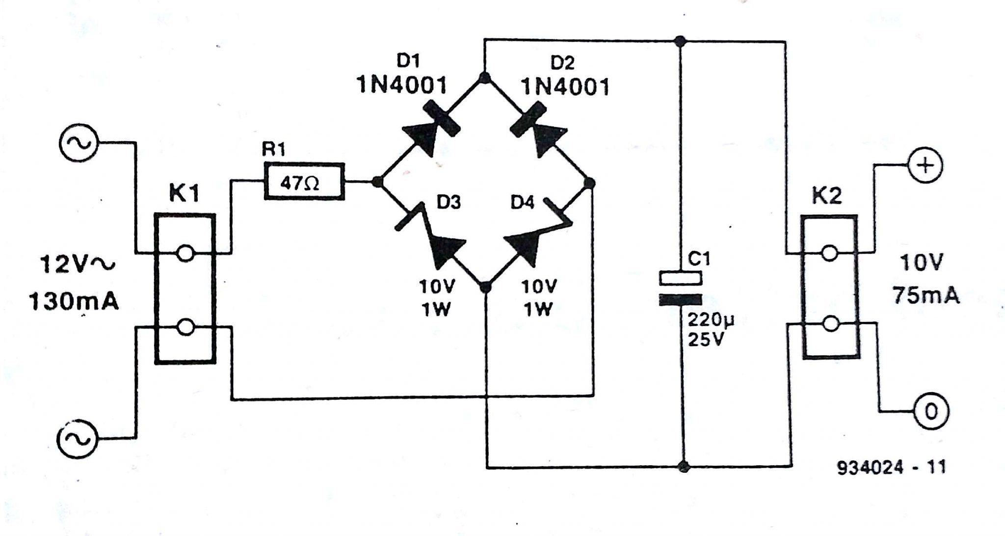 lovely full wave rectifier circuit diagram | wiring within rectifier  circuit diagram - 6863