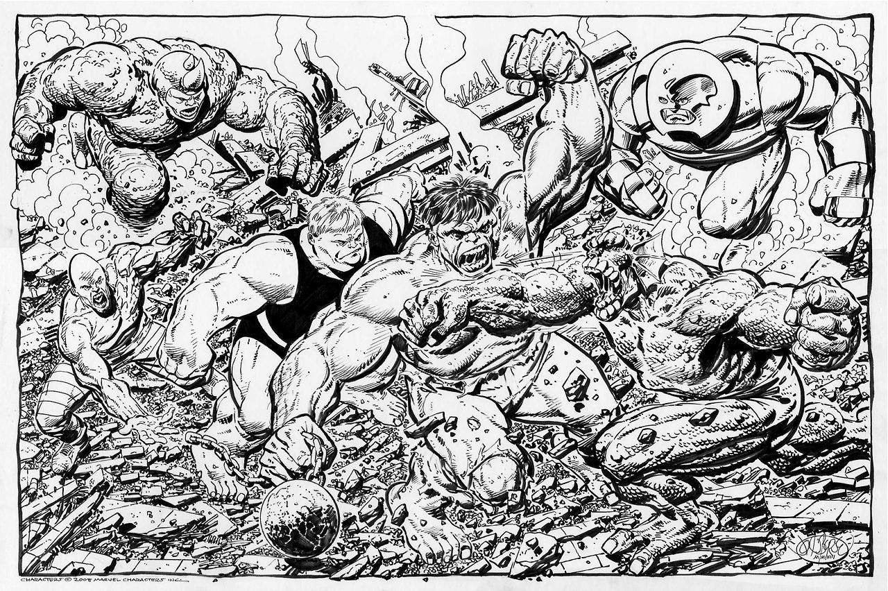 John Byrne Draws Photo Comic Art Fans Drawings Comic Book Artwork