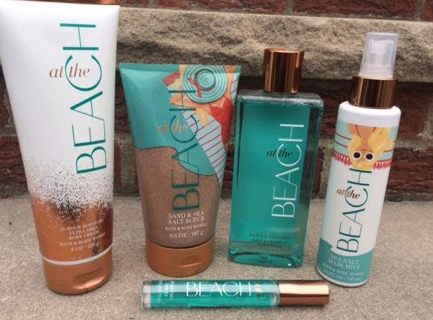 Bath Body Works At The Beach Collection Review Bath And Body Works Perfume Bath And Body Shop Bath N Body Works