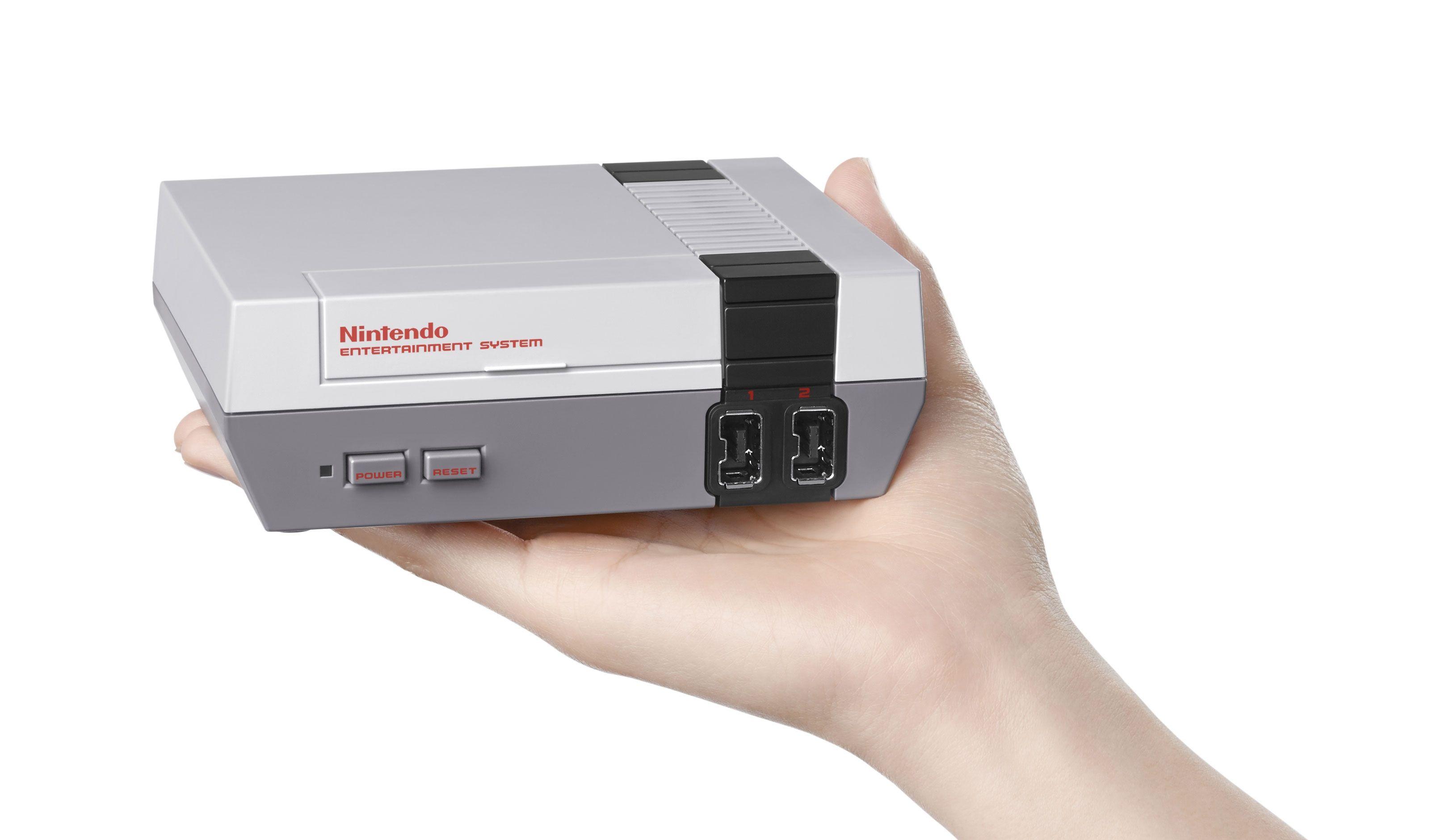 Nintendo S New Console Is Just Adorable Nes Console Mini Nes Nintendo Mini Classic