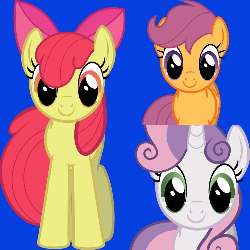 MLP - The Cutie Mark Crusaders (Applebloom, Scootaloo and