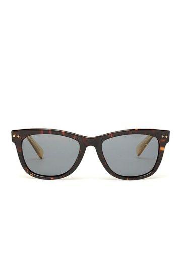 Womens Plastic Wayfarer Sunglasses by Cole Haan Sunglasses on @HauteLook
