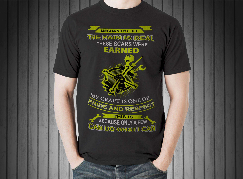 Mechanic Custom T Shirt Design T Shirt Gallery Pinterest