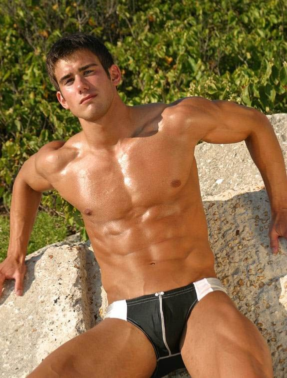 Gay wet abs