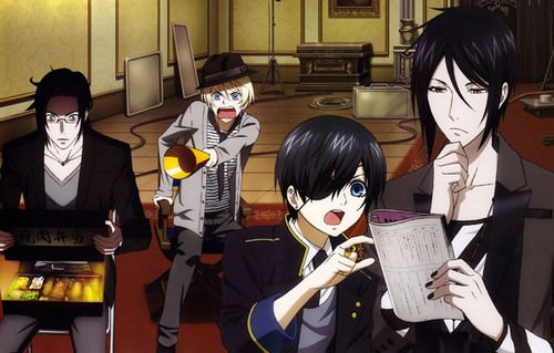 The 3rd OVA in season 2 was amazing! It explained how Ciel, Sebastian and the others are just regular people who auditioned for the show Black Butler. It was amazing and everyone was in regulr clothes and everything! They were practicing their scripts, scenes, and they even used green screens. I recommend you watch it