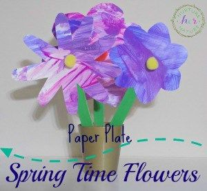 Springtime Paper Plate Flowers Earth Day Crafts Pinterest
