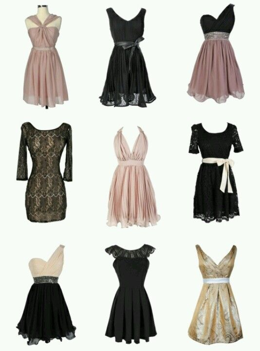 Black Holiday Dresses for Teenagers