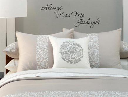 Slaapkamer Muur Quotes : Inspirerend voor aan de muur in je slaapkamer. sleeping room