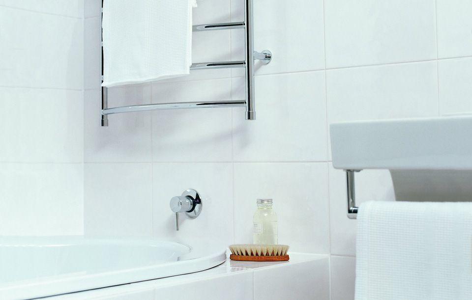 white bathroom tiles Google Search Bathroom Pinterest