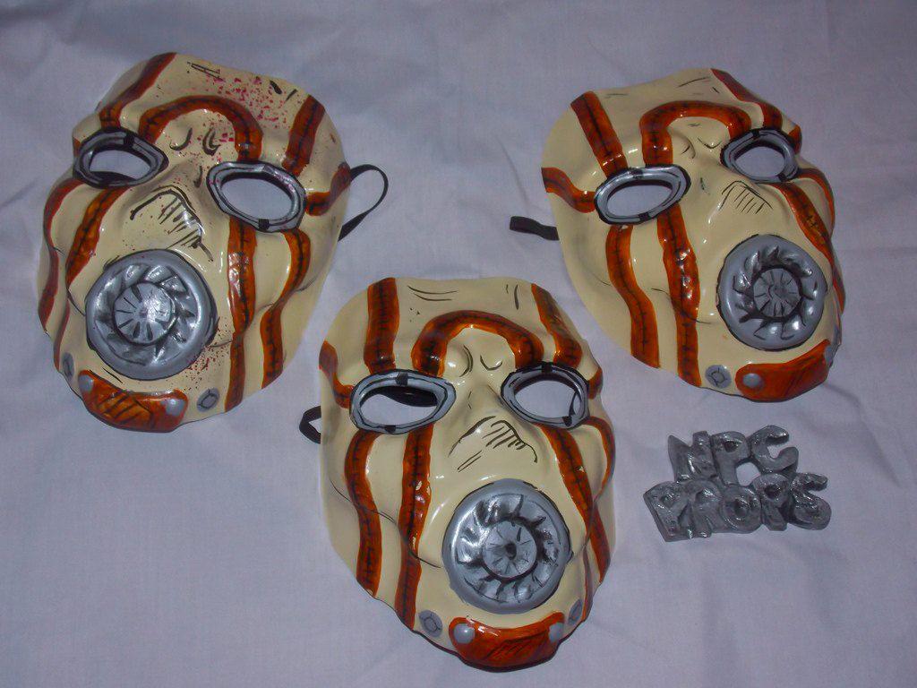 Psycho Mask from Borderlands in PVC de NPCProps en Etsy