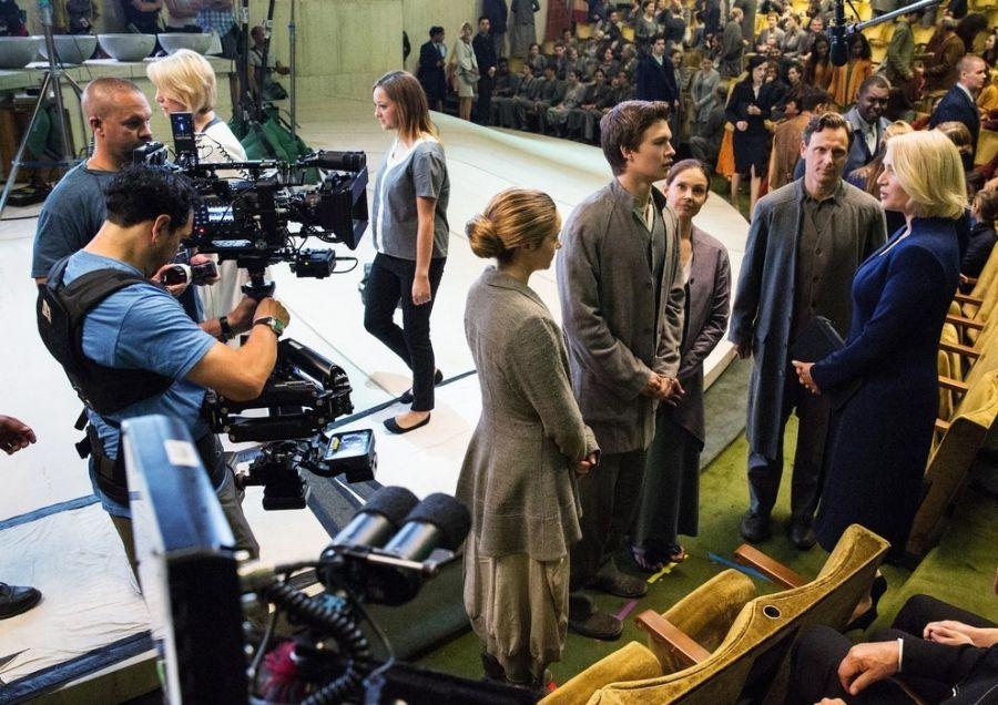Ansel Elgort And Shailene Woodley Divergent