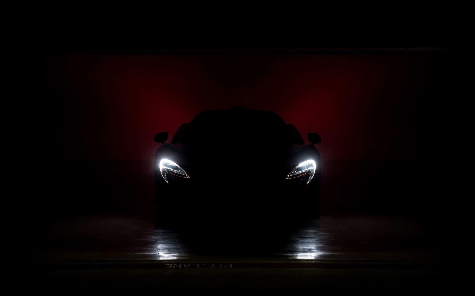 Headlights Dark Wallpaper Mclaren P1 Mclaren Super Cars