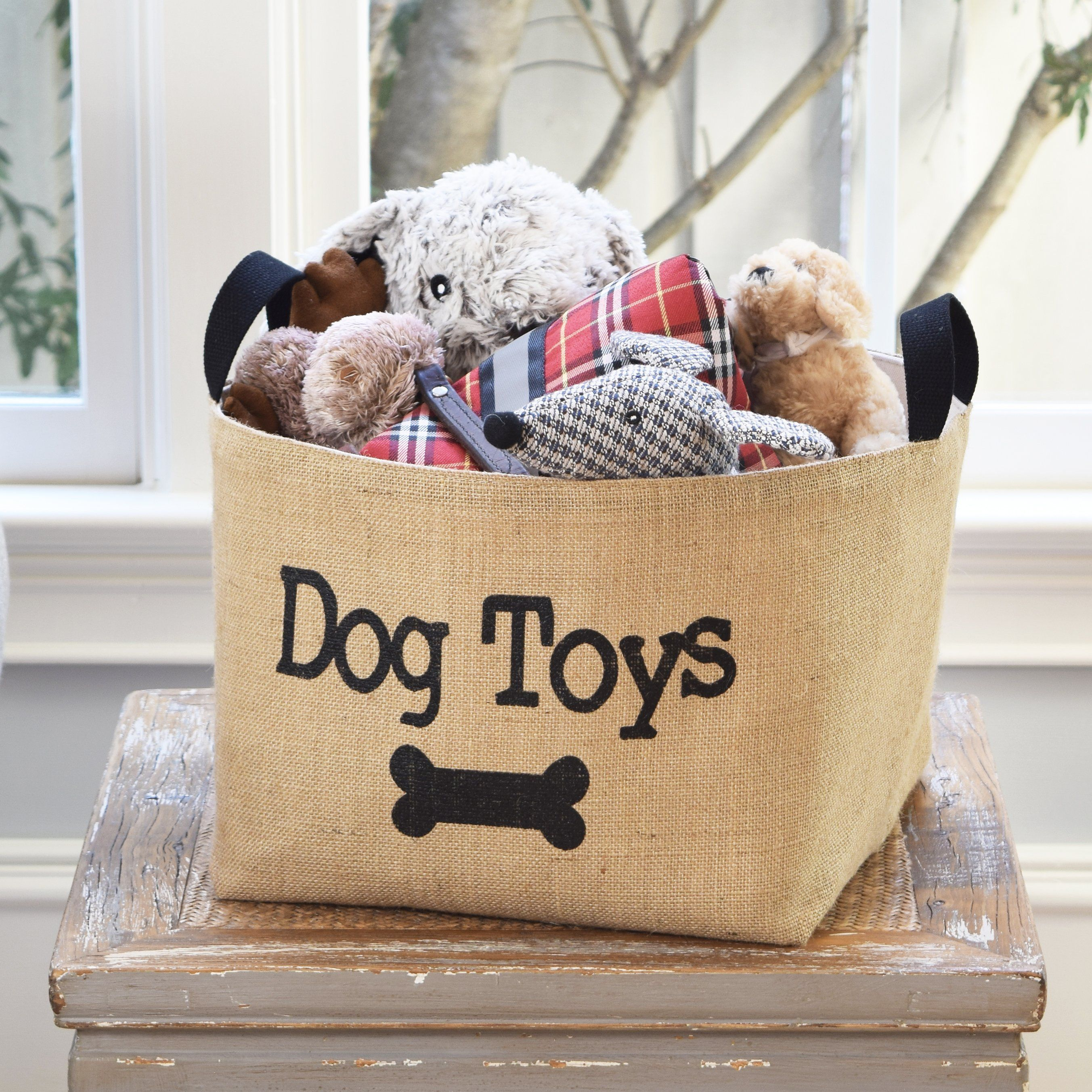 Dog Toys Basket Dog Toy Storage Dog Toy Basket Dog Room Decor